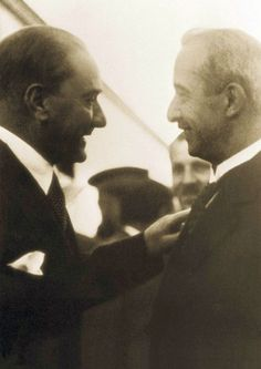 with İsmet İnönü