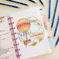 Learn how this doodler combines her calendar/to-do lists with her delightful drawings in a highly organized and functional way.