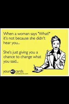 :)...sometimes true.