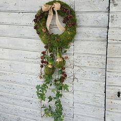 Wreath#krans#winterwreath#florist#flowerdecoration#decoration#