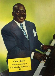 COUNT BASIE RECORDS EXCLUSIVELY ON COLUMBIA RECORDS (ca. 1945) Standee poster | eBay