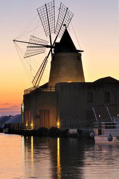 Windmill, Mothia Island, Sicily