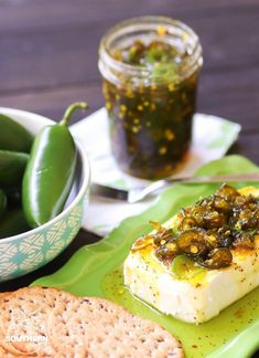 Freshed jalapenos cooked with sugar, spices and just the right amount of seasoning are turned into an irresistible dish that's perfect for burgers, dogs, salads, sandwiches and appetizers. Canning Recipes, Spicy Recipes, Jalapeno Recipes, Candy Recipes, Delicious Recipes, Keto Recipes, Yummy Food, Healthy Recipes, Cowboy Candy
