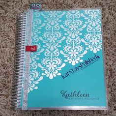 Erin Condren Life Planner | Kat Stays Polished @erincondren #lifeplanner #eclp