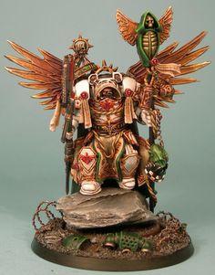 Belial, Dark Angels, Deathwing, Sculpting, Space Marines, Terminator Armor