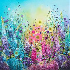 Your Beauty is Sheer Bliss Leanne Christie Glitter Art, Cool Art Drawings, Abstract Images, Flower Backgrounds, Fantastic Art, Whimsical Art, Mandala Art, Landscape Art, Flower Art