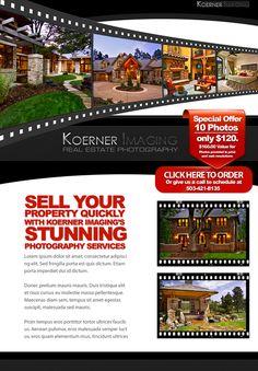 New Real Estate Email Flyer Designs Scrap Real Estate - Mortgage broker flyer template