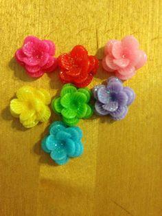 A personal favorite from my Etsy shop https://www.etsy.com/listing/235309527/glittery-earrings-rose-earrings-stud