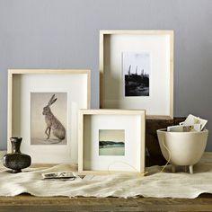 Freestanding Wooden Frames | west elm