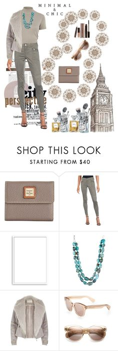 """""""Natural !"""" by geniusmermaid ❤ liked on Polyvore featuring Dooney & Bourke, Saks Fifth Avenue, River Island, Bomedo, Ralph Lauren, Oliver Peoples, Chanel and Laura Mercier"""