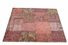Carpet patchwork Orange nu 239€ 170x240cm  www.gigameubel.nl