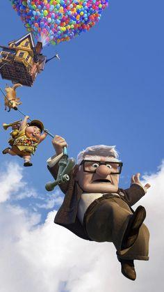 Up Telefon Hintergrund, Up Pixar, Disney Pixar Movies, Disney Cartoons, Watch Cartoons, Disney Up, Cartoon Cartoon, Cute Cartoon Wallpapers, Movie Wallpapers, Disney Phone Wallpaper