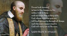 Saint Francis de Sales, Pray for Us