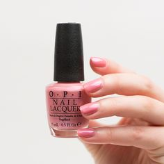 http://www.douglas.de/OPI-Hawaiian-Orchid The soft shade nail polish in the color Hawaiian Orchid is a tropical pink with hints of light purple. Available at Douglas