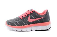 Nike Free Run 5.0 Gray Children Shoes Deep Pink Like Free Everyday