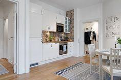 Blog wnętrzarski - design, nowoczesne projekty wnętrz: Mieszkanie dwupokojowe aranżacja - skandynawski styl