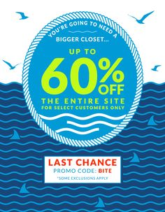 Jack Threads: Last Chance: You're Going To Need A Bigger Closet...
