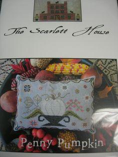 In Stitches Shop Blog: Scarlett House Penny Pumpkin