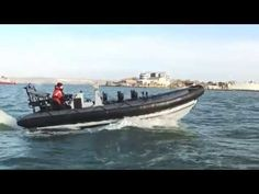 The first next generation Rigid Inflatable Boat rolls off the production...