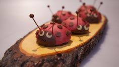 Lieveheersbeestjes - Rudolph's Bakery | 24Kitchen #cupcakes #ladybug