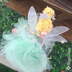 Woodland Fairy, Diy Crafts For Gifts, Flower Fairies, Fairy Dolls, Magical Creatures, Doll Crafts, Soft Sculpture, Christmas Angels, Diy Flowers