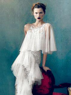 "abigaildonaldson:  Kasia Struss in ""Magic Kingdom"" by Norman Jean Roy for Vogue February 2013"