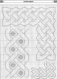 New hand quilting patterns stitches border design ideas - frieda Blackwork Patterns, Blackwork Embroidery, Celtic Patterns, Celtic Designs, Cross Stitch Embroidery, Embroidery Patterns, Quilting Patterns, Hand Quilting, Cross Stitch Boarders