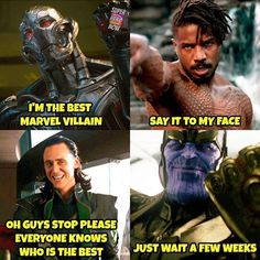 Yes indeed my brother. Been waiting long enough. #Avengers #ultron #loki #killmonger #thanos #guywhoplayedultron #tomhiddleston #michaelbjordan #oscargrant #joshbrolin #avengers #blackpanther #avengersageofultron #guardiansofthegalaxy #avengersinfinitywar