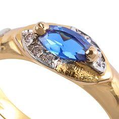 Anel de Formatura Ouro com Diamante 6 Pontos AG022 - Rosana Joias