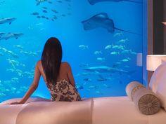 underwater hotel dubai 04 Atlantis: Dubais underwater hotel