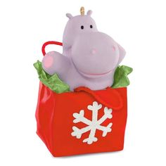 I Want a Hippopotamus for Christmas Musical Ornament