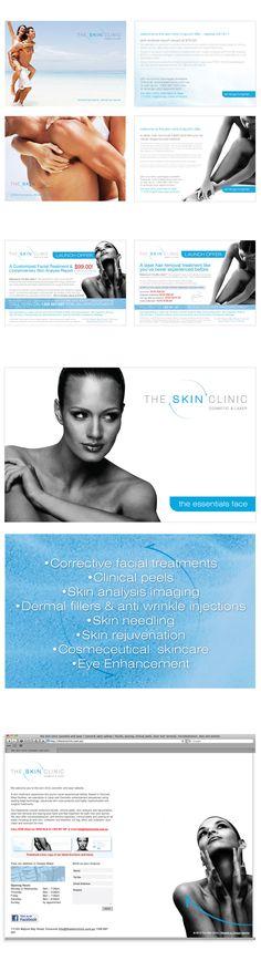The Skin Clinic branding