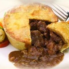 Main - Steak Pie Pub Food on BigOven: I made this up and it ended up being great!