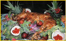 We already locked this in. Isn't a luau without a pig roast.