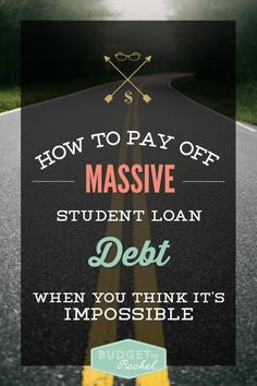 Student Loan Debt Payoff: How To Dig In For The Long Haul When You Have Massive Loans - Credit Card Payment - How to calculate credit card payment? - Student loan debt payoff plan for the long-haul Federal Student Loans, Paying Off Student Loans, Student Loan Debt, Best Payday Loans, Student Loan Repayment, Student Loan Forgiveness, Loan Company, Paying Off Credit Cards, Credit Card Interest