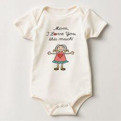 #cute #baby #bodysuits - #Cute Baby Love Baby Bodysuit