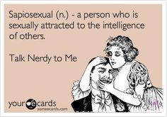 Talk nerdy to me!
