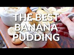 THE BEST BANANA PUDDING - The Country Cook Healthy Banana Pudding, Banana Pudding Desserts, Banana Pudding Poke Cake, Southern Banana Pudding, Banana Dessert Recipes, Fun Desserts, Dessert Bread, Pistachio Dessert, Country Cook