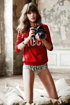 GLAMOUR FR August 2014.   Rock = fM fashion Music