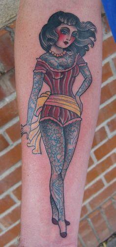 Marie Sena @ Stay Gold Tattoo (Albuquerque, New Mexico, USA)