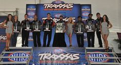 2013 Traxxas Shootout Top Fuel Drivers at Indy 2013. Brittany Force, Steve Torrence, Tony Schumacher, Spencer Massey, Shawn Langdon, Khalid alBalooshi, Antron Brown and Bob Vandergriff Jr.