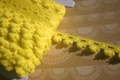 Yellow Braid Trim - Fringe Sewing Braided Ribbon - 5/8 Wide - 4 Yards  Braid trim in pretty bright Spring colors and a good width! Trim is 5/8 wide and is made from 100% polyester. The last two photos show the braid with some fabric and paper crafting to show you some possibilities! Available in green, yellow and orange, please see my other listings!  Please use the drop down quantity menu button to buy more yardage or convo me for a custom listing