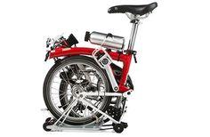 折り畳むとほぼタイヤサイズの自転車「BROMPTON」を電動アシストに!―add-eが「BROMPTON SPECIAL EDITION」を開発