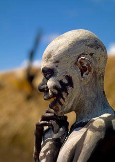 Skeleton man - Papua New Guinea