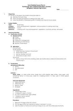 A Detailed Lesson Plan in English (First Year – Secondary)I ...