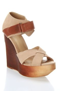 Joe's Jeans Toni Wedges In Sand - Beyond the Rack $99.99