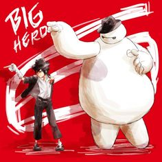Image discovered by Ka. Find images and videos about disney, big hero 6 and baymax on We Heart It - the app to get lost in what you love. Disney Dream, Cute Disney, Disney Magic, The Big Hero, Hiro Big Hero 6, Disney Animation, Animation Film, La Route D'eldorado, Big Heroes