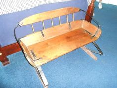 Found on EstateSales.NET: Bench Seat made from Buggy Seat