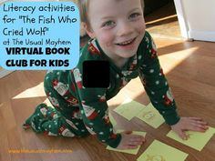 The Usual Mayhem: Virtual Book Club For Kids: The Fish Who Cried Wolf