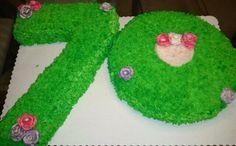 grandma birthday, 70th birthday, birthday cakes